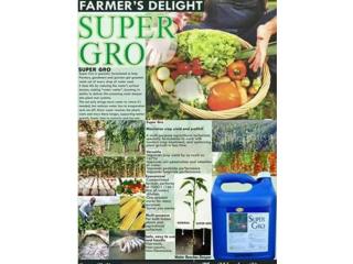 Supergro liquid organic fertilizer