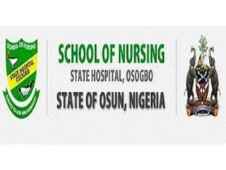 Osun State School of Nursing, Osogbo 2021/2022 Session Admission Forms are on sales