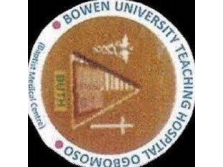 Bowen University Teaching Hospital, Ogbomosho 2021/2022 Session Admission Forms are on sales
