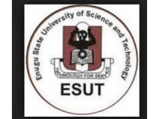 Enugu State University of Science and Technology, Enugu 2021/2022 Session Admission forms