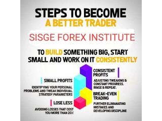 BE A  PROFESSIONAL FOREX TRADER AT SISGE FOREX INSTITUTE