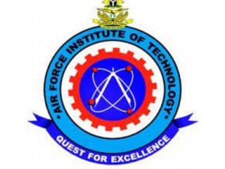 Air Force Institute of Technology, Kaduna 2021/2022 Session Admission forms are on sales.