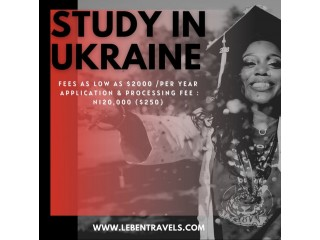 Study in Ukraine - Leben Travels and Tours