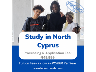 Study in North Cyprus - Leben Travels and Tours