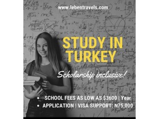 Study in Turkey - Leben Travels
