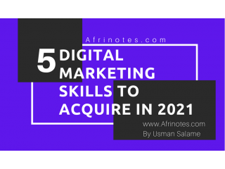 5 Digital Marketing Skills you need to learn before the end of the year
