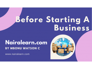 Important Facts You Need To Know Before Starting A Business