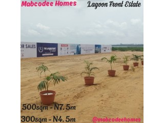 Plots of Land For Sale Lagoon Front Estate, Alaro City, Epe (Call or WhatsApp - 08058317500)