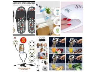Ring light, Tummy Trimmer, Nail Dryer, Grilling Machine and more Available For Sale (Call - 08130705032)