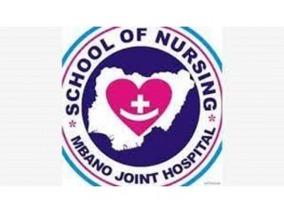School of Nursing, Mbano,Imo State 2021/2022 Session Admission Forms are on sales.