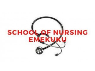 School of Nursing, Emekuku ,Imo State 2021/2022 Session Admission Forms are on sales