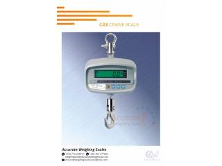 CAS digital crane weighing scales with aluminum alloy housing uprom supplier Lira, Uganda +256 (0) 705 577 823, +256 (0) 775 259 917