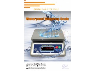 Waterproof tabletop scale perfect for fish processing fields Kasenyi+256 (0) 705 577 823, +256 (0) 775 259 917